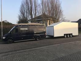 remolque de coche de caja cerrada Wagenaar WA1300 , 3 assige gesloten aanhangwagen ,   tractor pulling , a... 2019