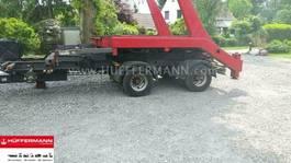 loading ramp full trailer Krone ZZW 18 mit Absetzkipper Wechselsystem 2003