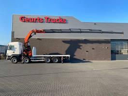 crane truck Scania R500-V8 8x4 + PALFINGER PK 85002 KRAAN/KRAN/CRANE/GRUA 2011