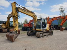crawler excavator New Holland E135SR 2008