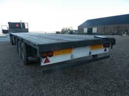 flatbed semi trailer Pacton 3-assige oplegger