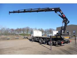 crane truck Volvo FM 420 L - 8x4-4 - TRIDEM - EURO 5 + HIAB 322 E 6 HI DUO - PERFECTE STAAT 2010