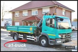 vcl de volquete < 7.5 t Mercedes Benz 1318 Bluetec 5, Kipper + Kran, HU 02/2021 2012