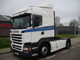 tracteur standard Scania R410 HL   EURO 6 ad-blue+TUV+652.000 km+RETARDER 2014