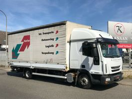 closed box lcv < 7.5 t Iveco ML 80E22  Euro5 DoKa Edscha/ Gardine