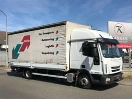 samochód dostawczy ze skrzynią zamkniętą < 7.5 t Iveco ML 80E22  Euro5 DoKa Edscha/ Gardine