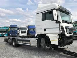 chassis cab truck MAN TGX 26.440FG /6x2   LLW Euro6  Lenkachse 2015