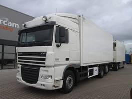 refrigerated truck DAF XF105.410 + SCHMITZ SKO18 Fleisch/Meat Rohrbahn 2012