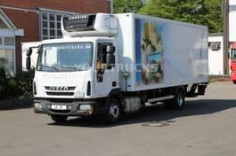 refrigerated truck Iveco EuroCargo 120E22 EURO 6 Carrier Supra 750Mt Bi-T 2014