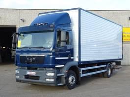 closed box truck MAN TGM 12.250  4X2 2011