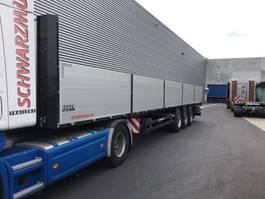 flatbed semi trailer Schwarzmüller Bouwstof