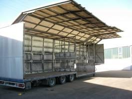 promotional semi trailer Schmitz Cargobull Getränkeanhänger 35,5 to hydr. Seitenwände