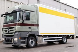 camión de caja cerrada > 7.5 t Mercedes Benz Actros 1844 MP3 E5 Retarder Klima LBW AHK 2010