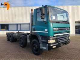 chassis cab truck DAF CF 85.430 8X4 (full steel) 2002