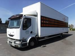 closed box truck > 7.5 t Renault midlum 220 dci 2005