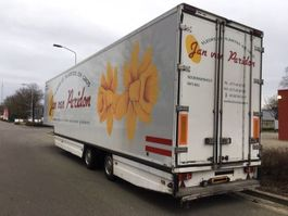 closed box semi trailer KTM KEES MULDER BLOEMENTRAILER APK !!!! 2002