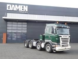 heavy duty tractorhead Scania R 560 CB V8 8x4 Euro 5 2011