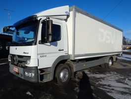 closed box truck > 7.5 t Mercedes Benz Atego 1224 4x2 4760 2012