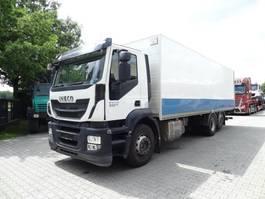 closed box truck > 7.5 t Iveco STRALIS 260S31 6X2 2015