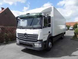 closed box truck > 7.5 t Mercedes Benz Atego 1224L  Euro 6 2015
