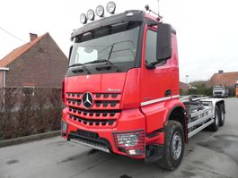 container truck Mercedes Benz Arocs containersysteem 6x4 2015