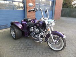 trike motorcycle Harley-Davidson FLSTC 'SANTIAGO CHOPPER' TRIKE 1995