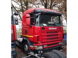 Тягачи стандарт Scania 124L420 2003