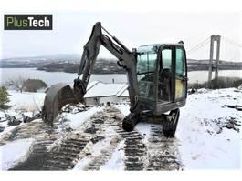 mini escavatore cingolato Volvo EC 20C 2012