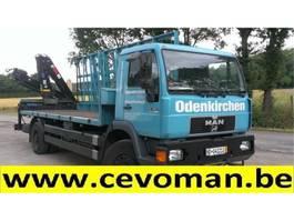 camion della gru MAN 18.264 Plateau + Autolaadkraan HIAB 1997