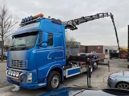 camion della gru Volvo FH 13-480 6X2 EURO 5 + PALFINGER PK44002 6X + JIB PJ080 4X 2007