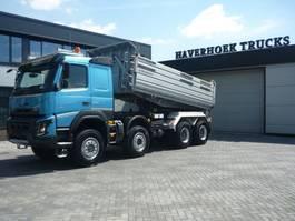 tipper truck > 7.5 t Volvo FMX 540 8x6  Euro 6  3 Side Meiller Tipper 2014