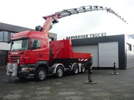 heavy duty tahač Scania R500 V8  8x4 Tractor PK 85002F Jib PJ 170  Retarder 2010