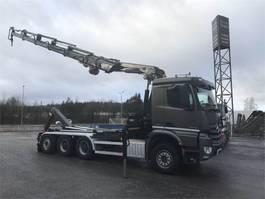 crane truck Mercedes Benz Arocs 3245 8x4 euro 6 2015