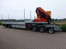semi lowloader semi trailer Trias 712-330 Semi dieplader PK 26002F