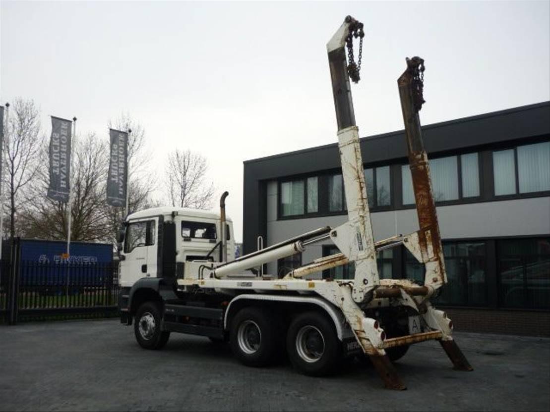 container truck MAN TGA 26.400 6x4 Euro 4 (abzetskipper) 2006