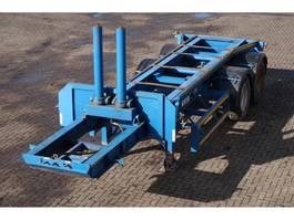 Kipper Auflieger Jordan Tipping Skelly 20ft. / Steel suspension 1992