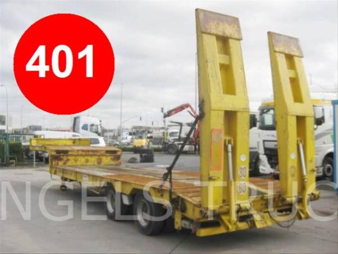 Ass Traffic 1 div. dieplader 2 ass lowbed semi trailer | lowloader semi