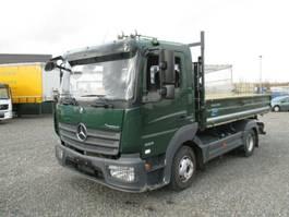 véhicule utilitaire léger à benne basculante < 7.5 t Mercedes Benz 823 Atego /2xAHK / 79 TKM / EURO 6 /