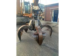 polyp grapple - scrap grapple attachment KINSHOFFER 600 Liter 5 Arms polyp grab with rotator