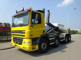 container truck DAF 85 CF 430 8 X 4 !! MANUAL + STEEL !! 2004