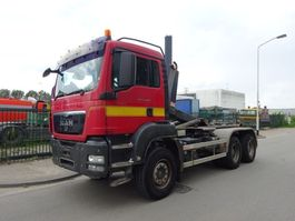 container truck MAN TGS 33.400 6 X 4 !! EURO 5 !! MANUAL GEARBOX !! 2010