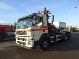 container truck Volvo FM 12 420 6 X 2 HOOK + ATLAS CRANE 2004