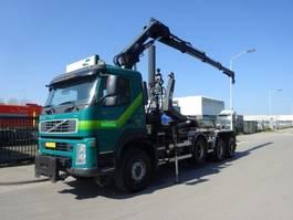 container truck Volvo FM 440 8 X 6 + HAAKSYSTEEM + HIAB CRANE 2008