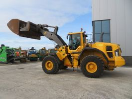 wheel loader Volvo L180G with high tip bucket 2011