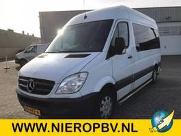 minivan - passenger coach car Mercedes-Benz SPRINTER 311cdi l2h2 airco 9persoons met invalide lift 2011