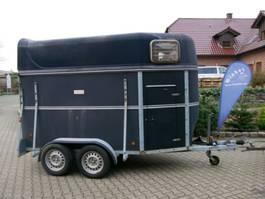 livestock trailer Schmidt Vollpoly 2 Pferde mit Sattelkammer