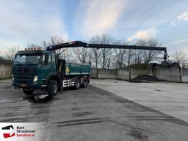 tipper truck > 7.5 t Terberg FM1350-WDGL 6x6 kipper met Z-kraan 2011