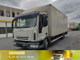 box truck Iveco EuroCargo 100 100E18 Euro5 4x2 2007
