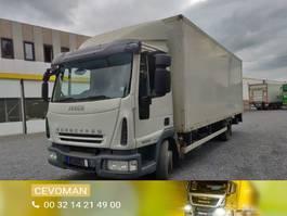 closed box truck Iveco 100E18 Euro5 4x2 2007