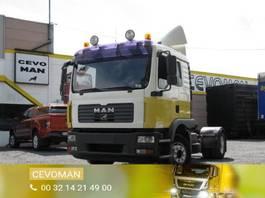 cab over engine MAN TGM 12.280 Trekker 33 Ton euro4 2007